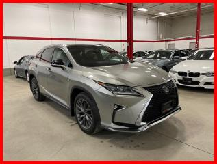 Used 2017 Lexus RX 350 F-SPORT 3 NAVIGATION PANORAMIC HUD CERTIFIED! for sale in Vaughan, ON
