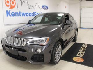 Used 2016 BMW X4 AWD | Leather | Sunroof | xDrive28i for sale in Edmonton, AB