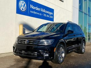 New 2021 Volkswagen Tiguan Highline for sale in Edmonton, AB