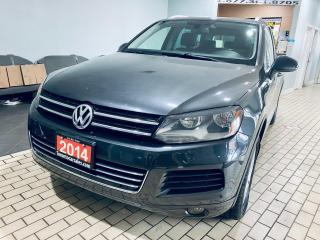 Used 2014 Volkswagen Touareg SPORTS I TDI I NAVIGATION I BACK UP CAMERA I ALLOY for sale in Brampton, ON