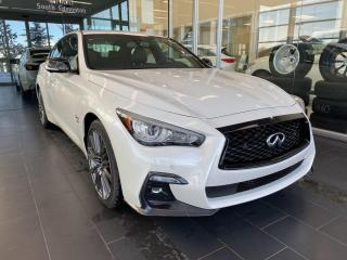 New 2020 Infiniti Q50 Red Sport I-LINE ProACTIVE for sale in Edmonton, AB
