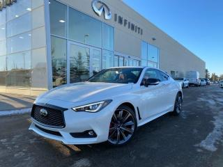 New 2021 Infiniti Q60 Red Sport I-LINE ProACTIVE for sale in Edmonton, AB