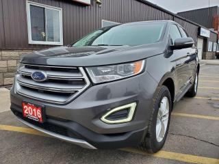 Used 2016 Ford Edge SEL-HEATED SEATS-REAR CAMERA-BLUETOOTH-PWR SEAT for sale in Tilbury, ON