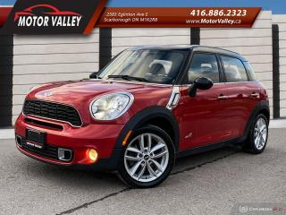 Used 2013 MINI Cooper Countryman S ALL4 - AWD CLEAN CAR! for sale in Scarborough, ON