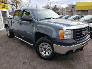 Used 2013 GMC Sierra 1500 WT/BLUETOOTH/4X4/AIR/ALLOYS/CRUISE/LOADED! for sale in Scarborough, ON