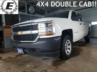 Used 2017 Chevrolet Silverado 1500 4X4 DOUBLE CAB!! for sale in Barrie, ON