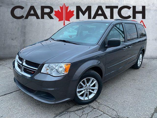 2017 Dodge Grand Caravan SXT / REVERSE CAMERA / ALLOY WHEELS