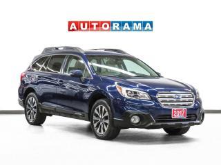 Used 2017 Subaru Outback V6 Limited w/Tech Pkg Nav Lthr Sroof Bcam for sale in Toronto, ON