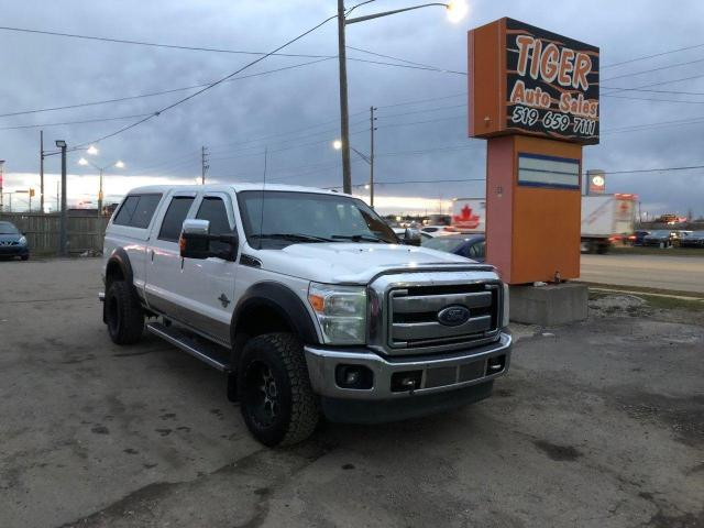 2014 Ford F-350 Lariat*DIESEL*LEATHER*CREW*NAVI*TOPPER*WHEELS*TUNE