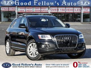Used 2017 Audi Q5 PROGRESSIV AWD, NAVIGATION, LEATHER SEATS, SUNROOF for sale in Toronto, ON