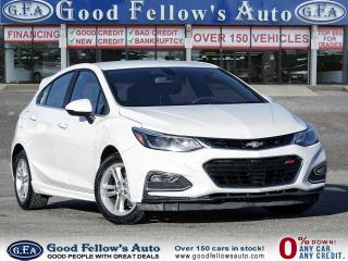 Used 2017 Chevrolet Cruze LT 4CYL 1.4L, HEATED SEATS, REARVIEW CAMERA, ALLOY for sale in Toronto, ON