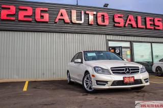 Used 2014 Mercedes-Benz C-Class C 300|ACCIDENT FREE|BACKUP CAM|SUNROOF for sale in Brampton, ON