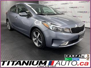 Used 2017 Kia Forte EX+ Sunroof+Camera+Heated Seats+Smart Key+Push Sta for sale in London, ON