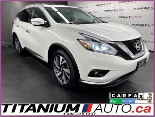 Used 2017 Nissan Murano Platinum+AWD+GPS+Pano Roof+Cooled Leath+360 Camera for sale in London, ON