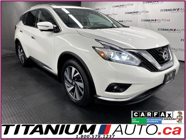2017 Nissan Murano Platinum+AWD+GPS+Pano Roof+Cooled Leath+360 Camera