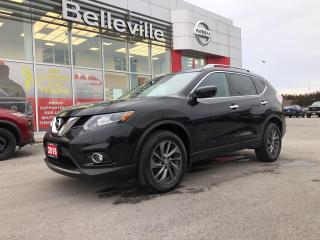 Used 2016 Nissan Rogue SL AWD LEATHER, SUNROOF, NAVIGATION, 1 OWNER for sale in Belleville, ON
