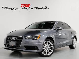 Used 2016 Audi A3 2.0T I SUNROOF I CAM I 18 IN WHEELS for sale in Vaughan, ON