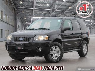 Used 2007 Ford Escape Limited for sale in Mississauga, ON