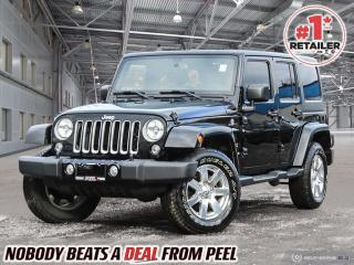 Used 2016 Jeep Wrangler Unlimited Sahara for sale in Mississauga, ON