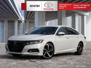 Used 2018 Honda Accord Sedan Sport for sale in Whitby, ON