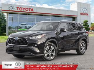 New 2021 Toyota Highlander HYBRID XLE for sale in Whitby, ON