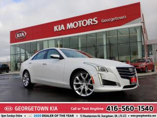 Used 2016 Cadillac CTS PREMIUM | AWD | NAV | PANO ROOF | B/U CAM |52,129K for sale in Georgetown, ON
