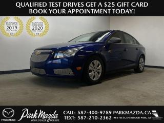 Used 2012 Chevrolet Cruze LS for sale in Sherwood Park, AB