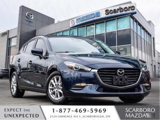 Used 2018 Mazda MAZDA3 Sport 0.99%FINANCE GS I-ACT PKG LANE DEPARTURE HATCHBACK for sale in Scarborough, ON