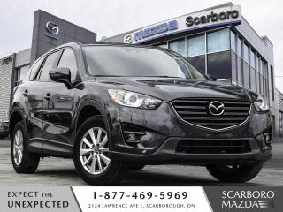 Used 2016 Mazda CX-5 SUNROOF BLIND SPOT MONITORING 1 OWENR CLEAN CARFAX for sale in Scarborough, ON