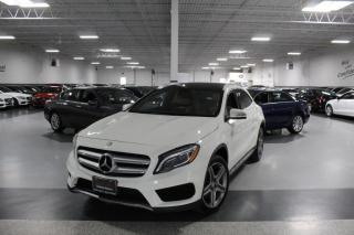 Used 2017 Mercedes-Benz GLA GLA250 4MATIC I AMG I NAVIGATION I PANOROOF I REAR CAM I BSW for sale in Mississauga, ON