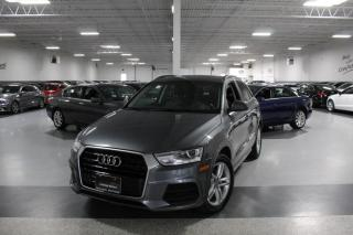 Used 2017 Audi Q3 QUATTRO NO ACCIDENTS I LEATHER I PANOROOF I HEATED SEATS for sale in Mississauga, ON