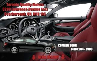Used 2014 Mercedes-Benz C-Class C350 Coupe 4MATIC ~RED INTERIOR~ AMG Package for sale in Toronto, ON
