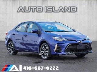 Used 2017 Toyota Corolla 3.9% FINANCE $65/WK OAC!! XSE**LEATHER**SUNROOF**NAV** for sale in North York, ON