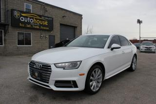 Used 2018 Audi A4 2.0 TFSI quattro Komfort S tronic for sale in Newmarket, ON