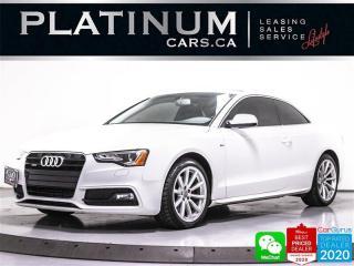 Used 2016 Audi A5 2.0T quattro Progressiv, S-LINE, AWD, NAV, HEATED for sale in Toronto, ON