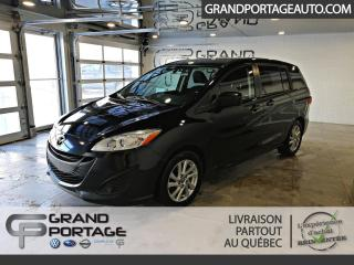 Used 2013 Mazda MAZDA5 Familiale 4 portes, boîte manuelle, GS for sale in Rivière-Du-Loup, QC