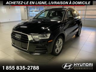 Used 2016 Audi Q3 PROGRESSIV + GARANTIE + NAVI + CUIR + WO for sale in Drummondville, QC