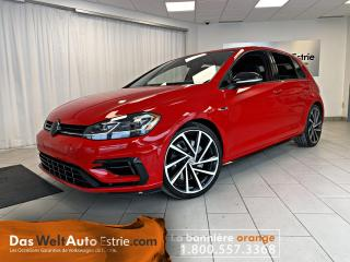 Used 2018 Volkswagen Golf R Manuel, JAMAIS SORTIE L'HIVER !!! for sale in Sherbrooke, QC