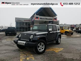 Used 2017 Jeep Wrangler Unlimited Unlimited Sahara  Leather-Dual Top-Alpine-NAVI- $279 B/W for sale in Ottawa, ON