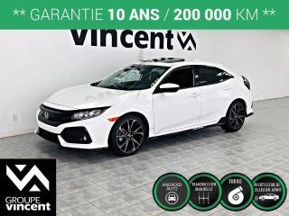 Used 2019 Honda Civic HATCHBACK SPORT ** GARANTIE 10 ANS ** Sportif et logeable! for sale in Shawinigan, QC