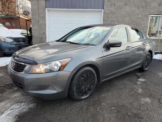 Used 2010 Honda Accord 2010 HONDA ACCORD LX**FINANCEMENT 100% A for sale in Lemoyne, QC