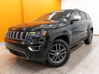 Used 2017 Jeep Grand Cherokee LIMITED 4X4 SIÈGES VENTILÉS CUIR NAV *TOIT PANO* for sale in Mirabel, QC