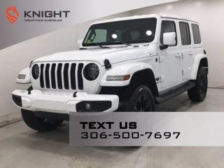 New 2021 Jeep Wrangler High Altitude | 2.0L Turbo | Leather | Sunroof | Navigation | for sale in Regina, SK