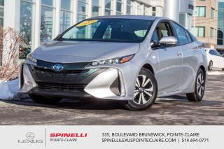 Used 2019 Toyota Prius Prime **PRIUS PRIME PLUG-IN HYBRID* *PLUG-IN HYBRID*NAVIGATION*TOYOTA SAFETY SENSE*BANCS & VOLANT CHAUFFANTS*CAMERA DE RECUL* for sale in Montréal, QC