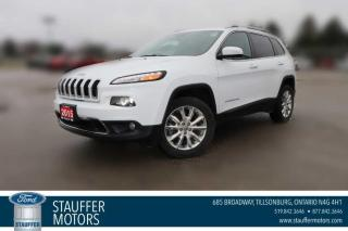 Used 2015 Jeep Cherokee Limited for sale in Tillsonburg, ON