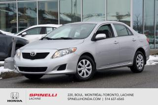 Used 2009 Toyota Corolla DEAL PENDING CE AUTO AC BAS KM AUTO AC TRES BAS KM for sale in Lachine, QC