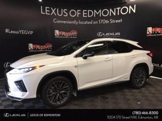 New 2021 Lexus RX 450h F SPORT SERIES 3 for sale in Edmonton, AB