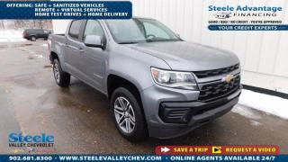 New 2021 Chevrolet Colorado 4WD Work Truck for sale in Kentville, NS