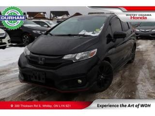 Used 2018 Honda Fit Sport w/Honda Sensing | CVT for sale in Whitby, ON