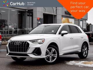 Used 2020 Audi Q3 Progressiv Quattro Panoramic Roof Apple CarPlay / Android Auto Blind Spot for sale in Thornhill, ON
